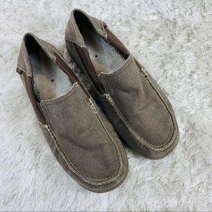 Crocs Santa Cruz 2 Luxe Loafer Men's Sz 7